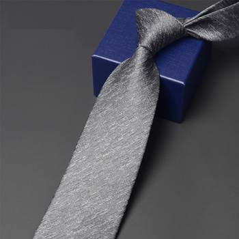 Men's Business Tie 2020 Brand New Fashion Casual Ties For Men Formal Dress Shirt Neck Tie Male Business Work Necktie Gift Box