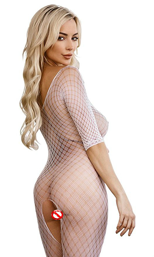 Heaf9ad168f594ee8bebf753bd9b74fedH Wontive Sexy Fishnet Bodysuit Women Sex Clothes See Through Open Crotch Body stockings Mesh Hollow Out Lingerie Costumes