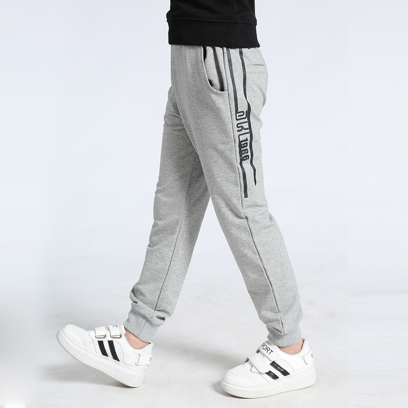 boys track pants 2021 autumn knitted soft loose pants for boys 4-8 8-12 years children pantalones baby trousers 2