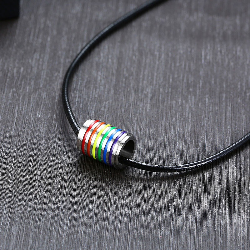 men lgbt necklace (10)
