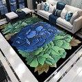 3D красочная печать с цветами ковры для гостиной спальни коврики Прихожая большой размер ковер журнальный столик напольный кухонный коврик
