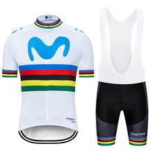 NEW 2020 MOVISTAR cycling TEAM BICYCLING Maillot bottom wear jersey 20D bike shorts Ropa Ciclismo MENS summer quick dry pro цена и фото