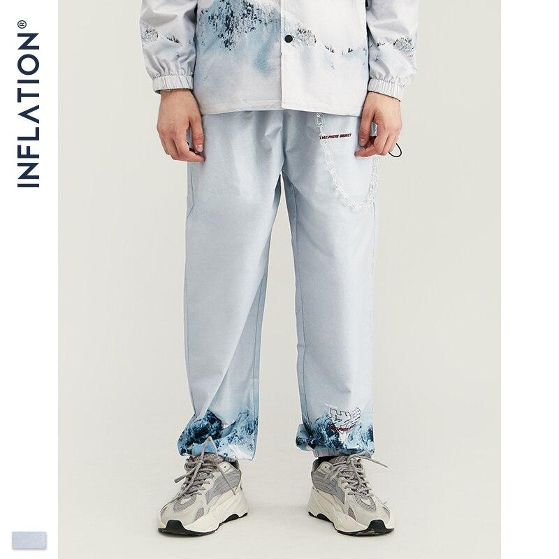 Image 5 - Inflação 2020 design casual solto ajuste blazer com impressão cor branca streetwear masculino terno estilo da forma terno blazersConjuntos Masculinos   -