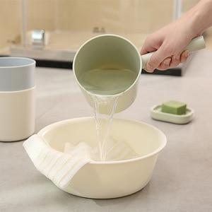 Image 4 - KitchenAce 1 pièce PP cuisine eau louche cuisine salle de bain eau Scoop eau égouttoir cuillère eau cuillère cuisine maison Gadgets & outils