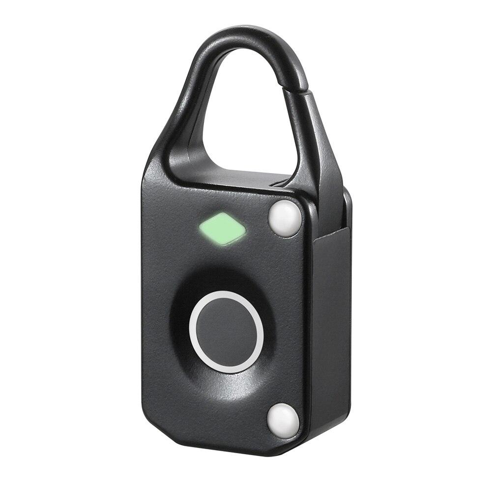 Luggage Padlock Intelligent Waterproof Electronic Fingerprint Lock Biometric Anti Theft Keyless Mini
