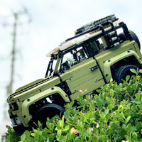 New 93018 Lepinblocks Lands Rovers Defender Compatible with legoset 42110 Building Blocks Bricks Technic Toys Gifts lepinbricks