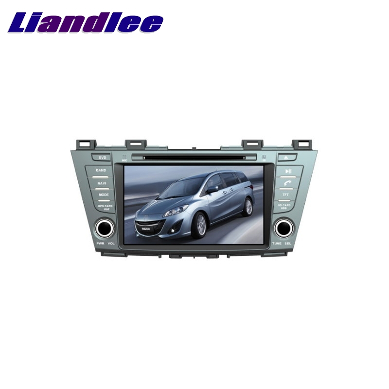 For Mazda 5 Premacy 2010~2017 LiisLee Car Multimedia TV DVD GPS Audio Hi Fi Radio Stereo Original Style Navigation NAV NAVI MAP