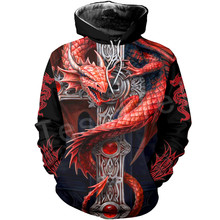 Tessffel Dragon Art Animal Harajuku MenWomen HipHop 3DPrinted Sweatshirts/hoodie/jackt/shirts Tracksuits Casual Colorful Style22