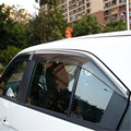 Окна автомобиля дождевик укрытия покрытие ABS солнцезащитный козырек для Mitsubishi Eclipse Cross 2018 2019 автомобильный Стайлинг