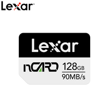 Новое поступление, карта памяти Lexar Nano, карта памяти nCARD 64 ГБ, 128 ГБ, 256 ГБ, высокоскоростная карта макс. 90 МБ/с. NM для Huawei MatePad Pro/Mate 20/P30