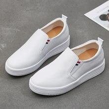 Женские кожаные туфли для отдыха простая модная рабочая обувь