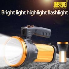 Lampe de poche LED 10W T6, 5W SMD, lumière latérale forte, longue portée, rechargeable par USB, projecteur pour camping, faire une promenade