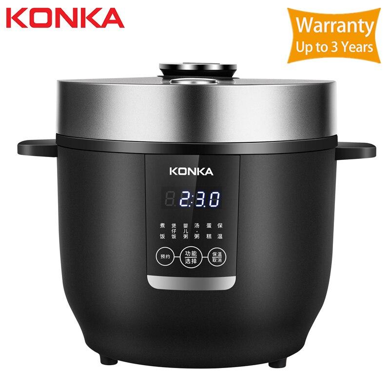 KONKA 2L cuiseur à riz électrique cuisine Mini cuiseur petit riz cuisinier Machine Intelligent rendez-vous affichage Led