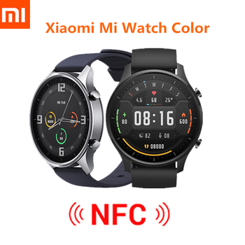 Original Xiaomi Smart Watch Color NFC 1.39'' AMOLED GPS Fitness Tracker 5ATM Waterproof Sport Heart Rate Monitor Mi Watch Color english version original xiaomi huami amoled screen heart rate monitor built in nfc smart watch amazfit verge 3