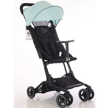 2019 New comfortable pure color dexterous baby stroller multifunctional baby stroller