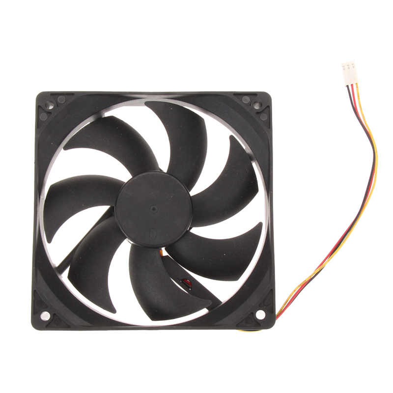 12V 3Pin Fan Cooler 12cm /120x25mm /120mm / 4.72inches  65 CFM DC PC Cooling Fan CPU Heat Sinks Cooler