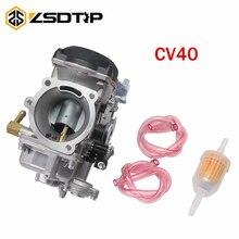 ZSDTRP CV40 Carburetor for Harley Davidson Sportster Road King Super Glide 40mm CV 40 XL883 27490 04 27465 04 Carb