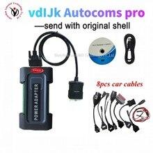 2021 جديد VCI 2017.R3 keygen VD DS150E CDP مع بلوتوث ل vdIJk Autocoms pro Obd2 سيارة شاحنة أداة تشخيص Obd obd2 الماسح الضوئي