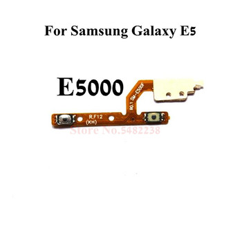 Original Volume side buttons Flex cable For Samsung Galaxy E5 E5000 Audio+- control key FPC Replacement parts image