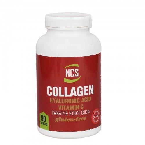 NCS Collagen Hyaluronıc Acıd Vitamin C The Gluten Free 90 Tablet