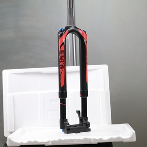 Горный велосипед вилка углеродного волокна RS1 ACS Solo Air 27,5 29er через 100*15 мм для предварительного рулевой Подвеска Вилка для горного велосипеда