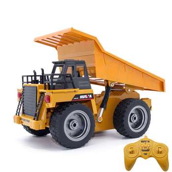 Super Power RC Car Tipper Dump Truck Model Remote Control Alloy Engineering Vehicle Beach Toys Kids Boys Birthday Xmas Gifts 26 styles rc car transformation robots sports vehicle model robots toys remote cool rc deformation cars kids toys gifts for boys