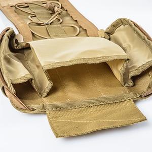 Image 3 - 캠핑 응급 처치 키트 응급 처치 가방 빈 의료 가방 방수 군사 전술 블랙 야외