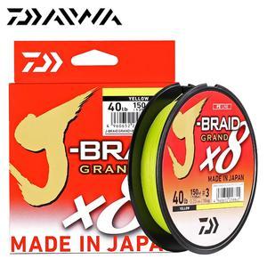 Image 5 - Nouveau J BRAID DAIWA Original grande ligne de pêche 135M 270M 8 brins tressé PE ligne matériel de pêche 18 20 25 30 35LB fabriqué au japon