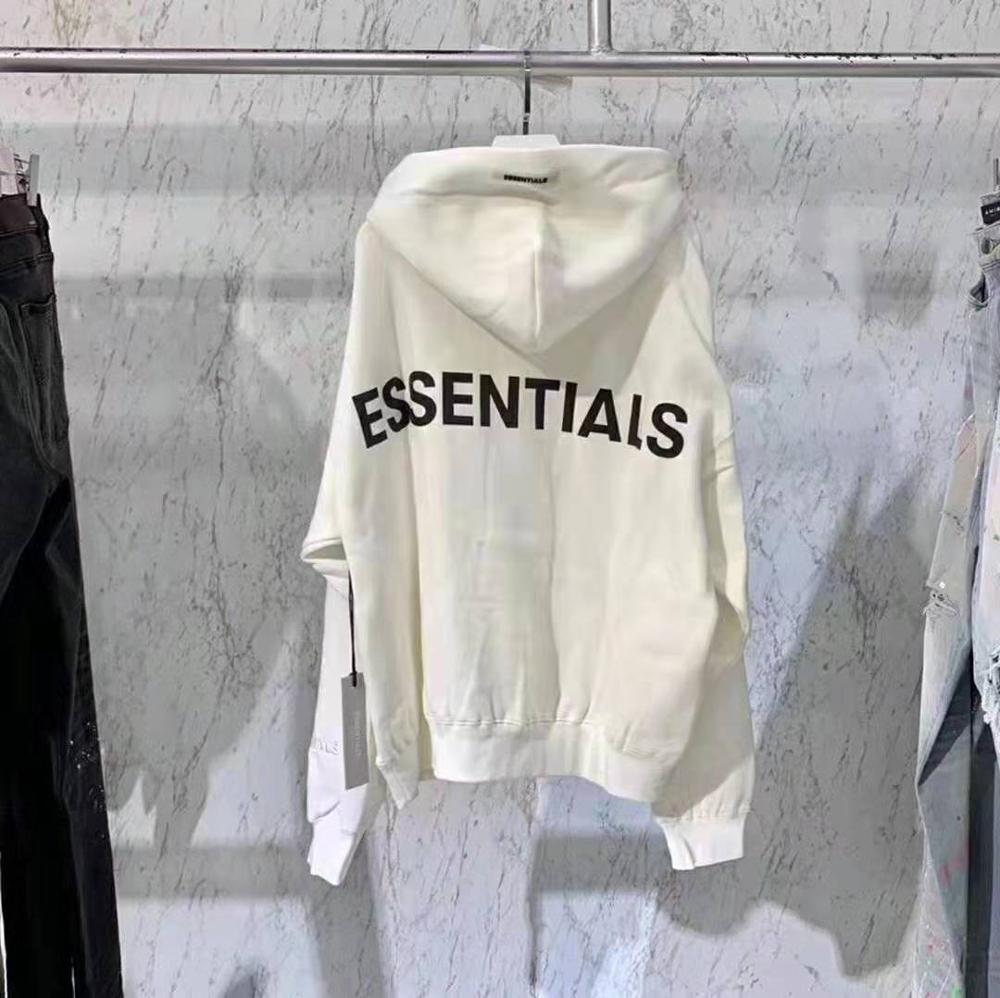 Image 5 - 2020 Latest top Hip Hop FOG Essentials Season 6 3M Reflective Pullover Hoodies Hip Hop Oversize Men Women Fashion Sweatshirts-in Hoodies & Sweatshirts from Men's Clothing