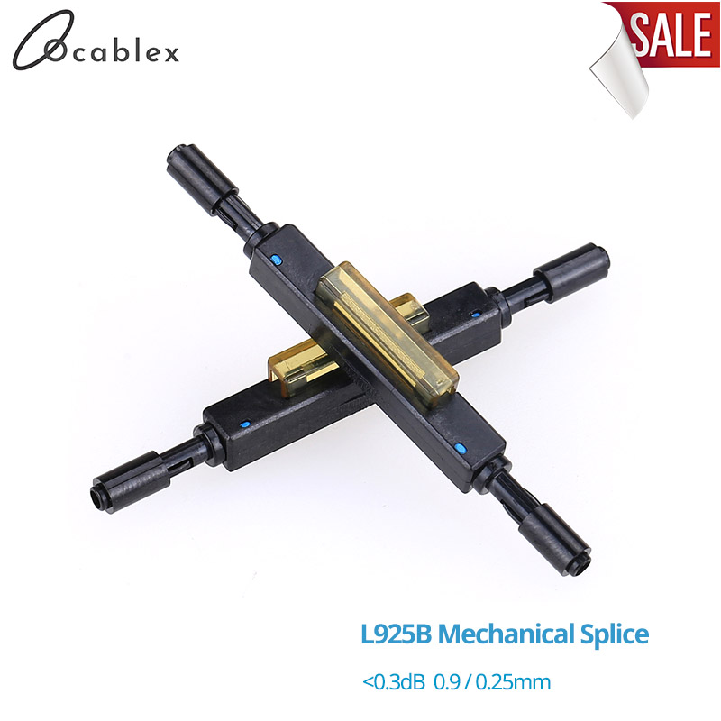 Free Ship L925B Fiber Optic Quick Connector Optical Fiber Mechanical Splice For Drop Cable