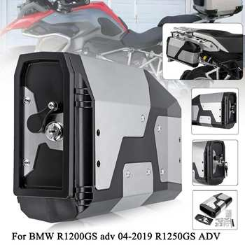 Motorcycle Side Tool Box Storage Case Decorative Alloy Toolbox For BMW r1250gs r1200gs lc & adv Adventure 2004 2005 - 2019