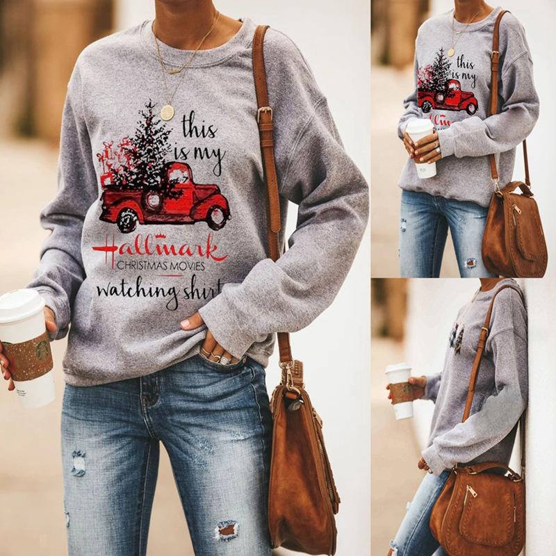 Зимние Топы для женщин 2020 осенне зимний свитер с буквенным