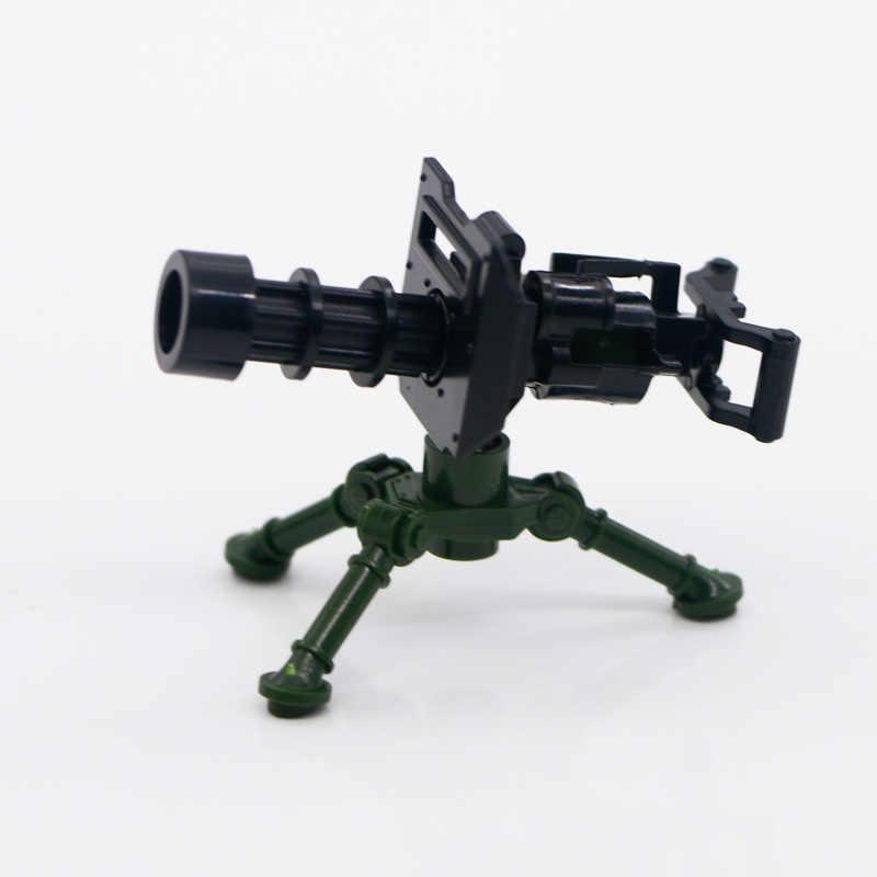 Bloques de construcción militar WW2, armas del ejército, armas de la ciudad, policía, equipo Swat alemán 98K, Mini figura de equipo, accesorios, bloques de juguete
