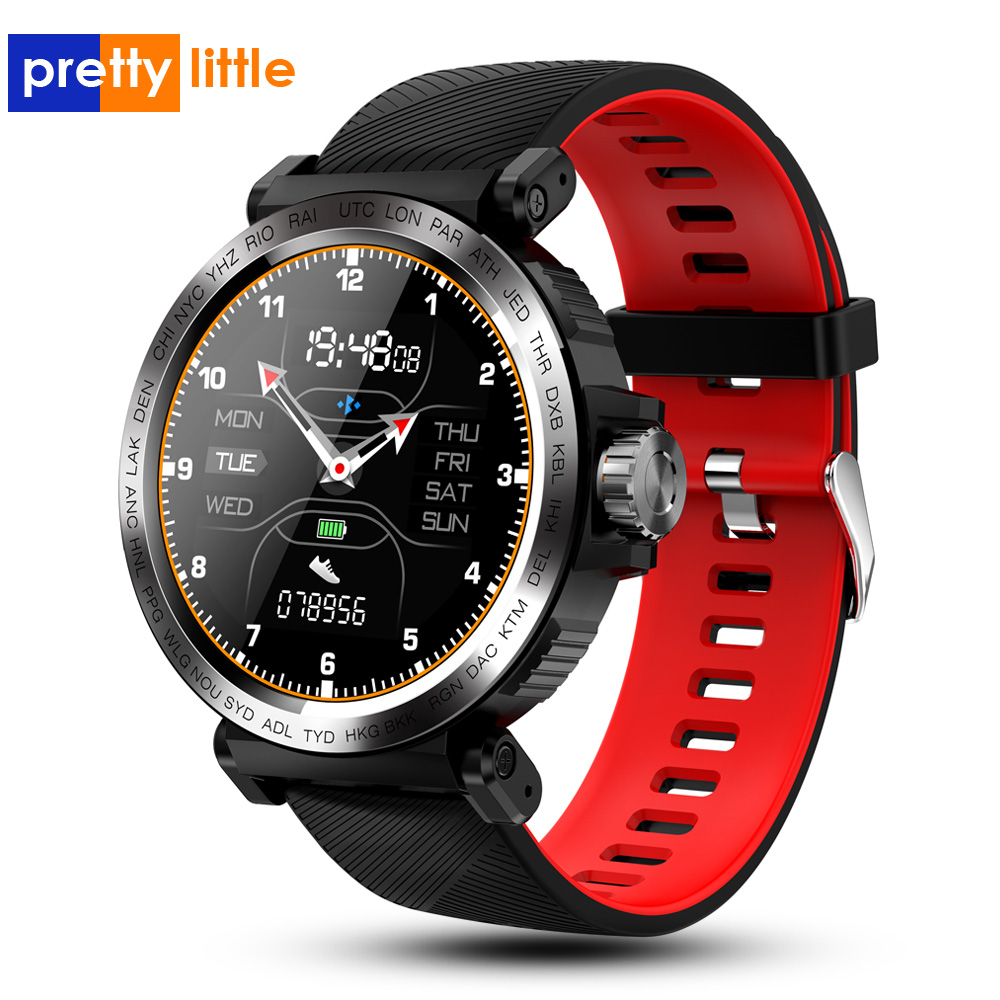 S18 Full Screen Touch Smart Watch Men IP68 waterproof Clock Heart Rate Monitor Smartwatch for IOS Android phone Sport Watch