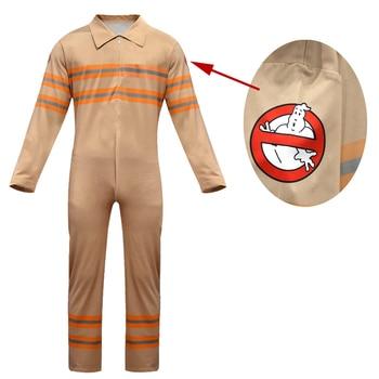 Kids Ghostbusters Jumpsuits Cosplay Costume Boy Girl Work Bodysuit Party Halloween Christmas