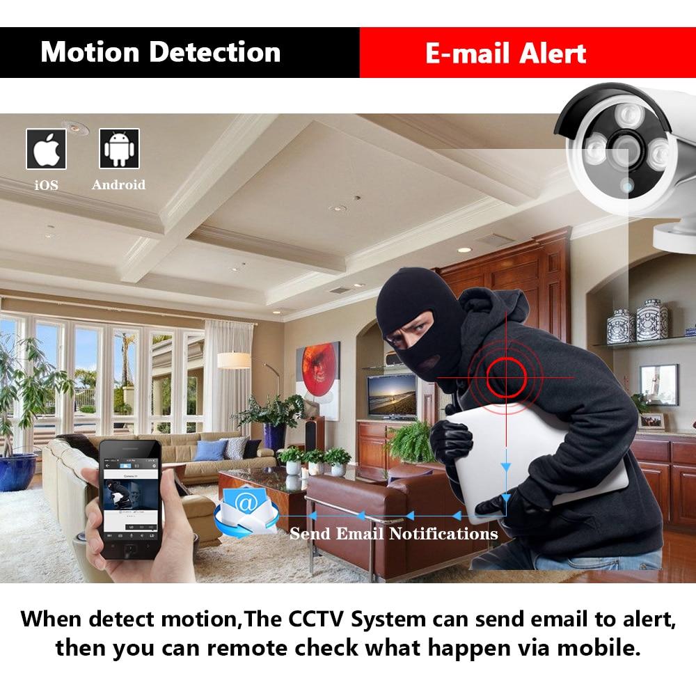 HCVAHDN 8CH 5MP POE NVR Xmeye CCTV System 4 0MP Indoor