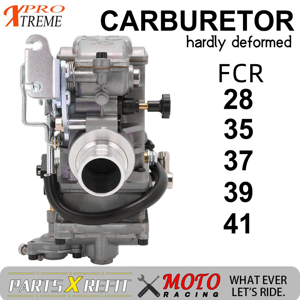 Motorcycle 28 35 37 39 41MM FCR <font><b>Carburetor</b></font> For KTM HONDA YAMAHA SUZUKI KAWASAKI EXC CRF YZ 125 250 <font><b>450</b></font> Racing Motors Add Power image