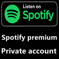 2 month Warranty For Spotify Premium account DJ Subscription Work on PCs Smart TVs Set top Boxes Android IOS Tablets PCs