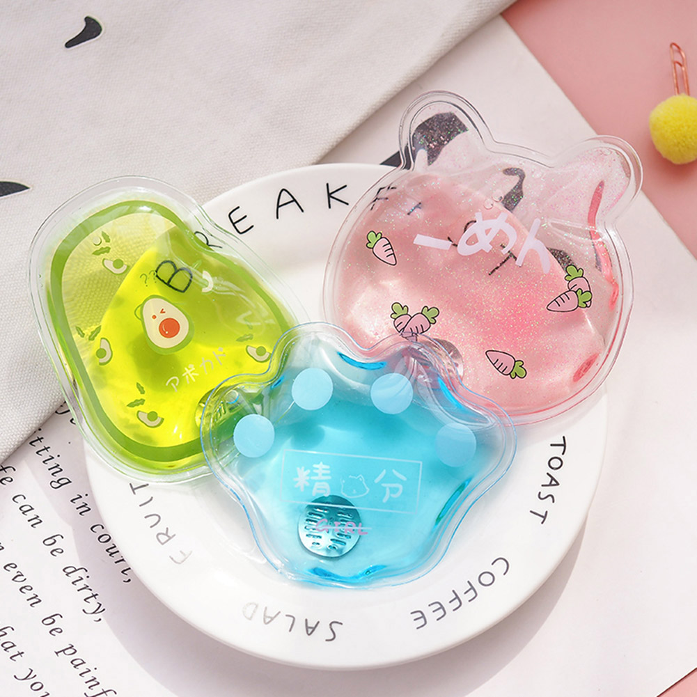 Economical Mini Winter Reusable Gel Hand Warmer Cute Funny Word Print Instant Heating Pack Warmer  Ds99