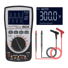 Et826 Intelligent 2 In 1 Digital Storage Scopemeter Multimeter 4 4000 Counts 20khz One Key Auto Oscilloscope Electrical Tester(China)