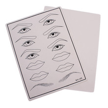 Biomaser Top Quality Permanent Makeup Eyebrow lips Tattoo Practice Skin Training Skin Set For Beginners  Tattoo accesories