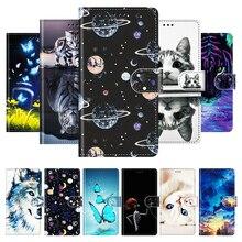 For Vivo Y11 2019 Case Leather Flip Wallet Phone Case For Vivo Y50 Y30 Y70 Y20i Coque Cover Vivo Y55 Y71 Y81 Y91 Y93 Y95 Fundas