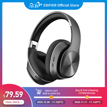 EDIFIER W828NB Bluetooth Headphones ANC function up to 25 hours of playback collapsible design wireless earphone