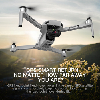 KF102 Drone GPS 6K/8K Gimbal HD Camera WiFi FPV Professional  Optical Flow Positioning Brushless Foldable RC QuadcopterVE58 E520 5