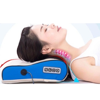 Elektryczny relaks poduszka na ramię masaż urządzenie Shiatsu szyjki macicy na podczerwień masaż palców Massageador relaks szyi i pleców poduszka poduszka do masażu poduszki masażer do pleców poduszka ortopedyczna tanie i dobre opinie Aneercare CN (pochodzenie) BODY Masaż i relaks Małe Composite Material Massage Relaxation malaxation shiatsu massotherapy