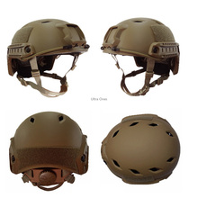 цена на Men Sport Protective Tactical FAST BJ Helmet Outdoor Safety Army Head Protector Airsoft Paintball Hunting Helmets