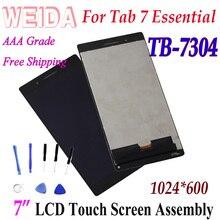 "WEIDA/ЖК-дисплей Замена "" для lenovo Tab 7 Essential TB-7304F TB-7304X Tab 7304 ЖК-дисплей Дисплей Сенсорный экран в сборе 1024*600"
