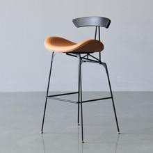 Iron Bar Stool Nordic Industrial Style Ant Bar Chair Modern Minimalist  Restaurant High Stools Home Back Bar Chairs