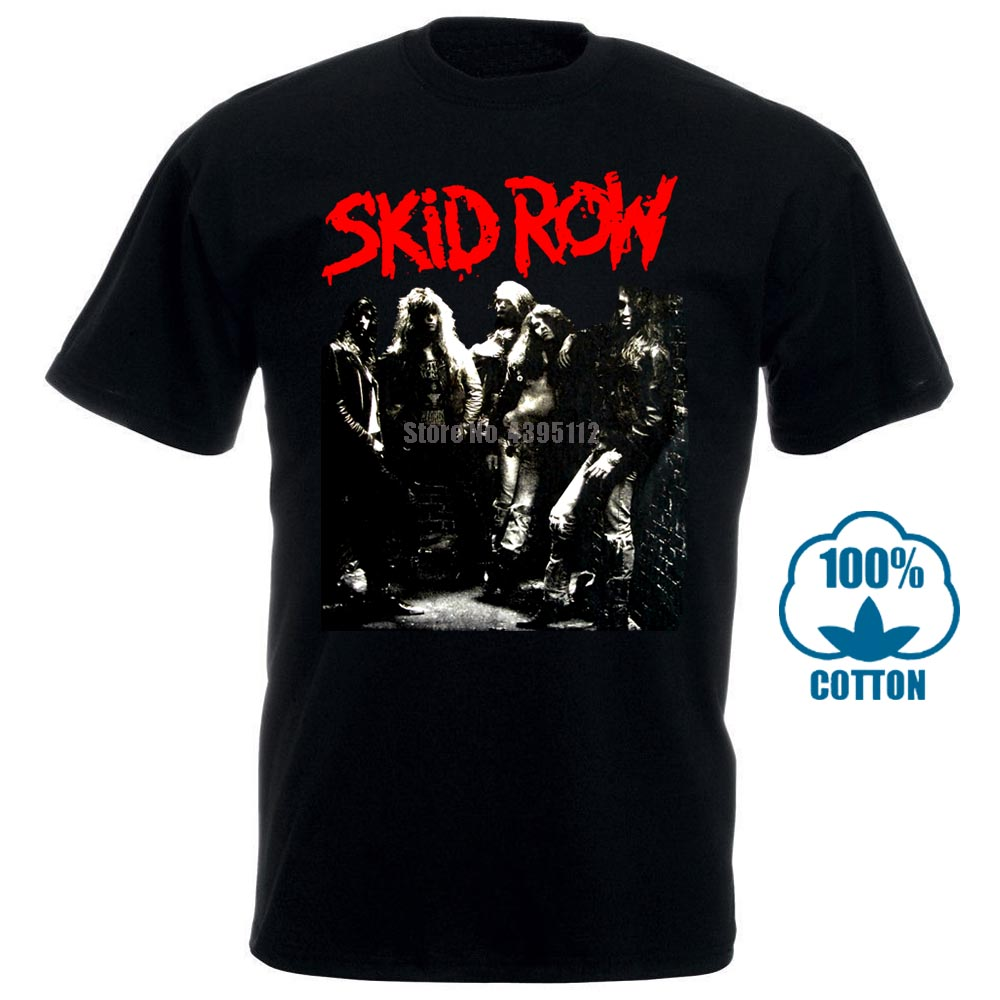 <font><b>Skid</b></font> <font><b>Row</b></font> S <font><b>T</b></font> '89 Band <font><b>T</b></font> <font><b>Shirt</b></font> 010929 image