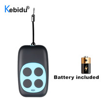 KEBIDU Wireless RF 433Mhz Copying Remote Control Clone Key Duplicator For Garage Door Gate Door 4 Channel Remote Controller